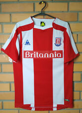 Stoke Home football shirt 2008 - 2009 size S jersey soccer Le coq sportif