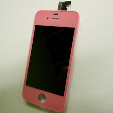 Pink LCD Display Touch Screen Digitizer Assembly Replacement for iPhone 4