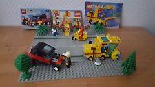 6649 Straßekehrmaschine+6538 City Dragster+6622 Postbote mit Motorrad