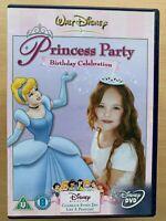 Disney Principessa Festa - Compleanno Celebrazione ~ Walt Cinderella Ecc. UK DVD