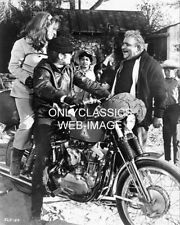 THEN CAME BRONSON PHOTO HARLEY DAVIDSON SPORTSTER MOTORCYCLE COOL MICHAEL PARKS