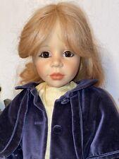 "Gotz Doll ""Stephanie"" By Joke Grobben Limited Edition-24 In."