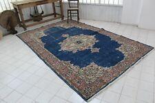 "Vintage Handmade Turkish Oushak Anatolia Office Area Rug 121""x78"""