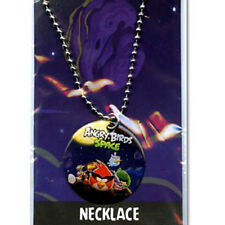 Angry Birds Space Gang Dog Tag Necklace Chain Birthday Party Favor NEW