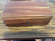 VINTAGE LANE MINI CEDAR LOVE CHEST!HOME OF ECONOMY GRAND FORKS ND.