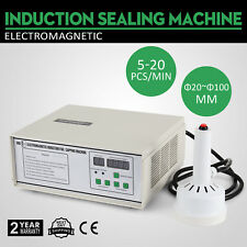 Induction Sealer Aluminium Foil Cap Sealing Machine Magnetic For Bottle 110V