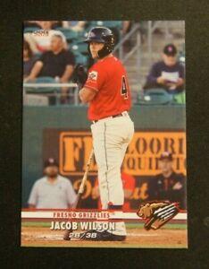2019 Choice, Fresno Grizzlies - JACOB WILSON