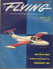 Flying Magazine Morane-Saulnier 760 January 1956 020418nonr