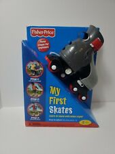 Fisher Price My First Skates Fits Shoe Sizes 6-12 RARE NEW Roller skates