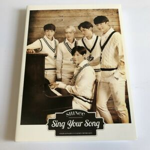 SHINee Sing Your Song First CD + DVD Limited Edition