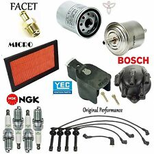 Tune Up Kit Filters Cap Spark Plugs Wire Set for Nissan NX L4; 2.0L 1991-1993