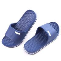 Mens Slip On Sport Slide Sandals Flip Flop Shower Shoes Slippers House Gym