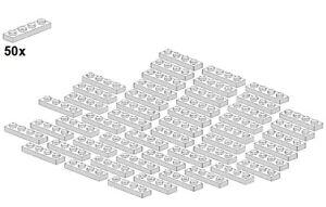 LEGO® - Plates - White - 3710-05 - 1x4 (50Stk) - Platte - Weiß