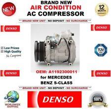 DENSO ARIA CONDIZIONATA COMPRESSORE AC OEM: a1192300011 per Mercedes Benz Classe