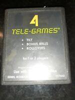 Arcade Pinball (Atari 2600, 1980) *BUY 2 GET 1 FREE +FREE SHIPPING*