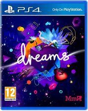 Sueños PS4 PlayStation 4 Juego-Adventure Kids Diversión para la familia Nuevo y Sellado