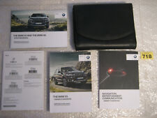 BMW X5 Owners Manual HANDBOOKS and Wallet                                  (718)
