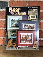 Cross Stitch Pattern Booklet Bear Parade Stoney Creek Collection 2005