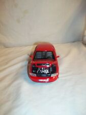 Welly Audi A4 1:24 Die-cast toy Red and Chrome - No Year M035