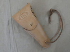 US WW2 Leather Belt Holster Colt 1911 Government Lederholster 45er Hell