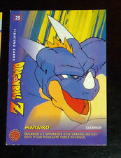 DRAGON BALL Z GT DBZ FIGHTING CARD CARDDASS NOT PRISM CARTE 29 JAPAN 1999 PANINI