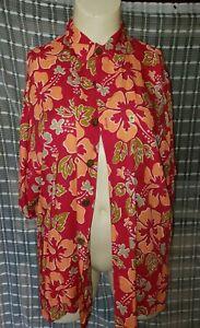 VINTAGE  Pineapple Lava Men's 100% Rayon Aloha Hawaiian Shirt Sz XXL #PBSR
