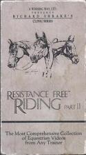 VHS:  RICHARD SHRAKE'S CLINIC SERIES RESISTANCE FREE RIDING PART II