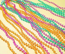 "Bead Necklaces Throwing 22"" Colorful Pretty Party Mardi Gras Clasp"