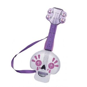 Spookylele Guitar Plush Prop - Vampirina - Sugar Skull - Costume Accessory