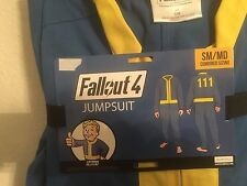 Fallout 4 Official Vaultboy Jumpsuit Halloween Cosplay Costume Sm/Md