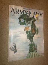 "2.1960 ""Army vs Navy"" Service Academies Football Program Westmorland Eisenhower"