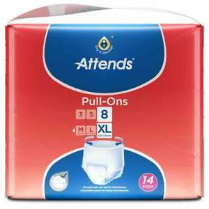 Attends Pull-Ons 8 Gr. XL (Extra Large) 4 x 14 = 56 Stück (1 Karton)