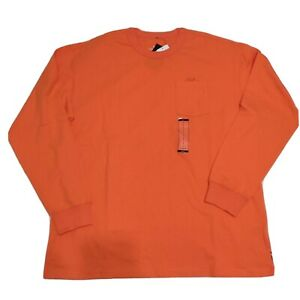 Nike Sportswear Premium Essential Men's T-Shirt Long Sleeve Tee Turf Orange Rare