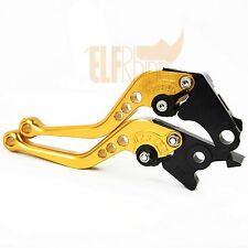 For HONDA GROM/CB300F/FA 2014-2016 CNC Clutch Brake Levers Gold Shortly Size