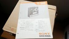 sony tc-560d service manual