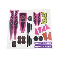 Power Wheels Y6533 Pink Dune Racer Raptor Decal Label Sheet