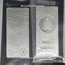2021 Niue Silver Star Wars Mandalorian Beskar Bar Coin BU IN STOCK READY TO SHIP