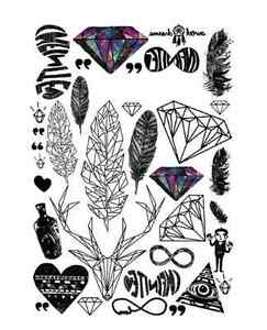 personality waterproof temporary tattoos LC-871