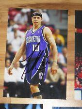 Sacramento Kings MIKE BIBBY Signed 4x6 Photo BASKETBALL AUTOGRAPH