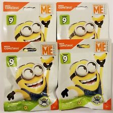 Mega Construx - Despicable Me Minions Series 9 Blind Bag Lot of 4 (BBDKW82)