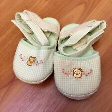 Disney Winnie The Pooh Infant Baby Crib Shoe Slippers 6-12 Months