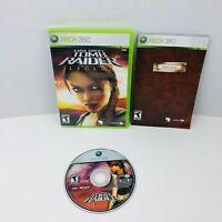 Lara Croft Tomb Raider Legend Microsoft Xbox Video Game Complete With Manual