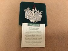 1997 Longaberger Pewter Ornament