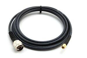 5m Antennenkabel für MINER Hotspot mit RP-SMA sowie N-Stecker (MAAS L30 Antenne)