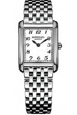 Raymond Weil Don Giovanni White Dial Stainless Steel Ladies Watch 58731-ST-05309