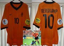 Holland Netherlands EURO 2000 official football shirt Soccer Jersey D. BERGKAMP
