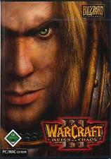 Warcraft 3 III-reign of chaos * allemand * comme neuf