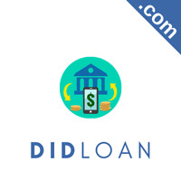 DIDLOAN.com Catchy Short Website Name Brandable Premium Domain Name for Sale