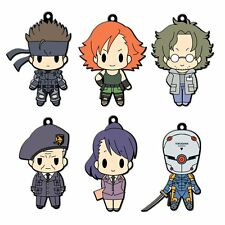 Metal Gear Solid Rubber Keychain Collection Vol.1 BOX 6 FIGURE TOY KONAMI KOJIMA