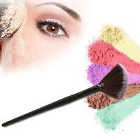 Pro Fan Shape Makeup Cosmetic Brush Blending Highlighter Contour Face Powder 1*